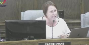 North Dakota Councilwoman Carrie Evans' Great Response To Bigot Over Pride Flag