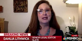 Dahlia Lithwick Urges Democrats To Start Threatening GOP Over Ginsburg Seat