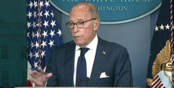 Larry Kudlow Touts Pre-Covid Economic Data At Press Briefing