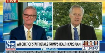 Mark Meadows Touts Trump's Desperate Attempt To Bribe Seniors Just Before The Election