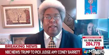 Elie Mystal Absolutely Levels Amy Coney Barrett's Judicial Reputation On AM Joy
