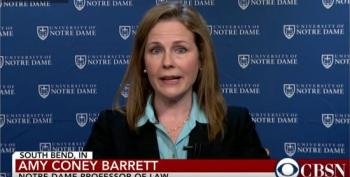 Amy Coney Barrett In 2016: Not Appropriate To 'Flip The Balance Of Power' In An Election  Year