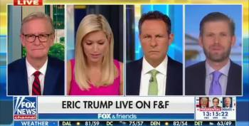 Eric Trump Surprises Everybody On Fox And Friends With LGBT Comment