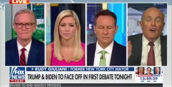 Rudy Giuliani Goes Off The Rails On Fox News To Spread Dementia Lies