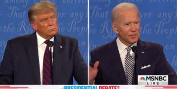 Biden Tells Trump What We Are All Thinking: 'Will You Shut Up, Man?""