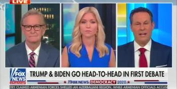Fox's Brian Kilmeade Dismayed By Trump Not Condeming White Supremacists