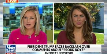 White House Press Flack On Trump's Proud Boys Comments: 'I Don't Think That There's Anything To Clarify'