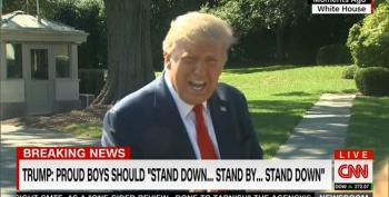 Trump Does Damage Control Following Debate: 'I Don't Know Who The Proud Boys Are'