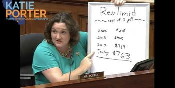 Rep. Katie Porter Grills Big Pharma CEO For Price Gouging