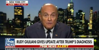 Giuliani: Trump 'Probably The Strongest And Healthiest Guy I Know Anywhere Near His Age'