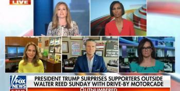 Fox Hosts Pretend Trump Didn't Risk The Health Of Secret Service With PR Stunt
