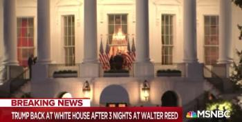 Joy Reid Rips Into Trump For Removing His Mask Upon Arrival At The White House