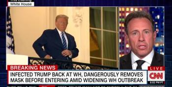 Chris Cuomo Lays Into The 'Covidiot' In The White House