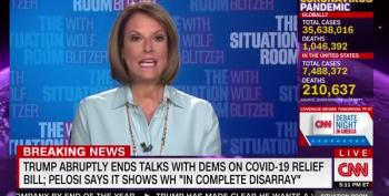 CNN Panelist Rails On Trump For Killing Stimulus Deal: 'COVID IS Dominating' Lives Of Unemployed