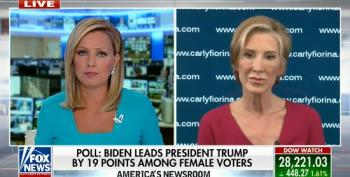 Carly Fiorina Explains To Fox's Sandra Smith Why She's Voting For Biden