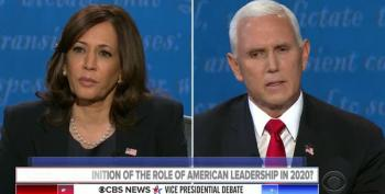 Kamala Harris Reminds Mike Pence Who Really Cares About The Troops