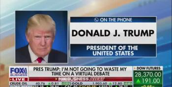 Donald Trump Calls Kamala Harris 'A Monster' During Unhinged Rant On Fox Business