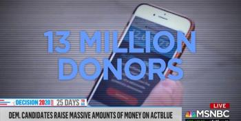 Online Donations Through ActBlue Are Skyrocketing
