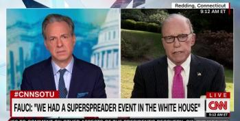 Jake Tapper Hits Larry Kudlow Over Lack Of Concern About Getting Supporters Sick