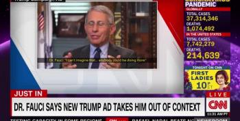 Dr. Anthony Fauci Slams Dishonestly Edited Trump Ad (Updated)