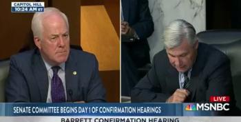 Watch Sen. Sheldon Whitehouse's Amazing Opening Statement At Barrett Hearing