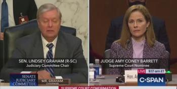 Lindsey Graham Asks Coney Barrett About 'Good Old Days' Of Segregation