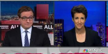 Last Night, It Was 'All Done' With Chris Hayes