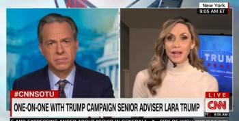 Lara Trump: Trump Just 'Having Fun' At Rallies With 'Lock Her Up' Chants