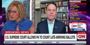 SCOTUS Allows PA Ruling To Stand Allowing 3-Day Counting Window