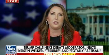 Ronna McDaniel Accuses Debate Commission Of 'Election Interference' Over Mic Rule