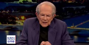 Pat Robertson Predicts Apocalyptic Times When Trump Is Re-Elected