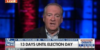 Mike Huckabee Agrees It's 'A Mistake' For Trump To Focus On Hunter Biden