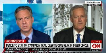 Mark Meadows Calls Pence An 'Essential Worker'