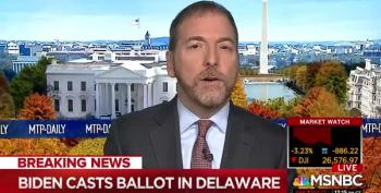 Chuck Todd Manages To 'BothSides' COVID-19