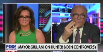'You Apologize To Me!': Rudy Giuliani Explodes At Fox Biz Host For Comparing Him To 'A Crook'