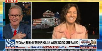 Fox & Friends Promotes Pennsylvania 'Trump House'