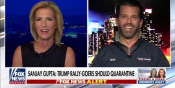 Don Jr.: COVID Deaths 'Almost Nothing'