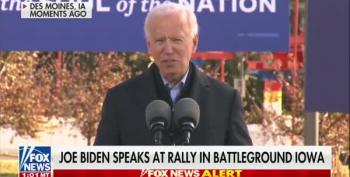 Biden Mocks 'Stable Genius' Trump On The Campaign Trail