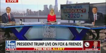 A Haggard Trump Blames Fox News For All His Problems Because They Aired An Obama Speech