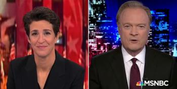 Lawrence O'Donnell Thanks Rachel Maddow For The Past Four Years