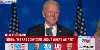 Biden Addresses The Nation On Election Night