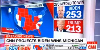 CNN Calls Michigan For Joe Biden