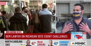 GOP Thugs Try To Derail Michigan Vote Counting Process