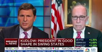 Kudlow Calls It 'Nitpicking' When Host Points Out Trump's Effort To Stop Vote Counts