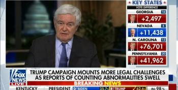 Newt Gingrich Should Be Fired From Fox News