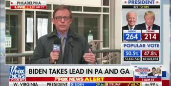 Fox News Reporter: What Trump Said About Pennsylvania 'Is Not True'