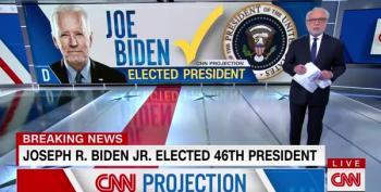 CNN Declares Joe Biden The 46th President Of The United States Of America
