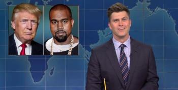 Colin Jost: 'It's Crazy That The Only Candidate Who's Conceded Is Kanye West'