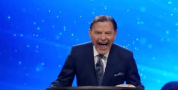 Watch As Televangelist Kenneth Copeland Laughs Like A Lunatic At Media For Saying Biden Won