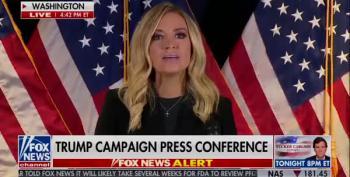 Fox News Host Cuts Off Kayleigh McEnany's Lies